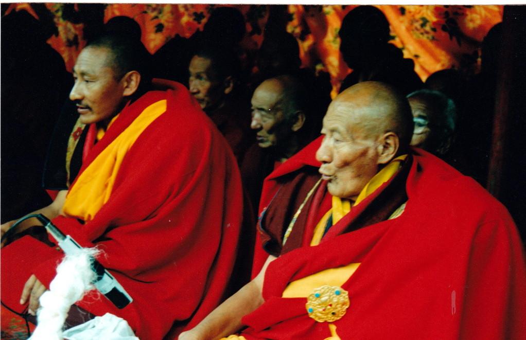 Lhasa monastero Drepung Lama