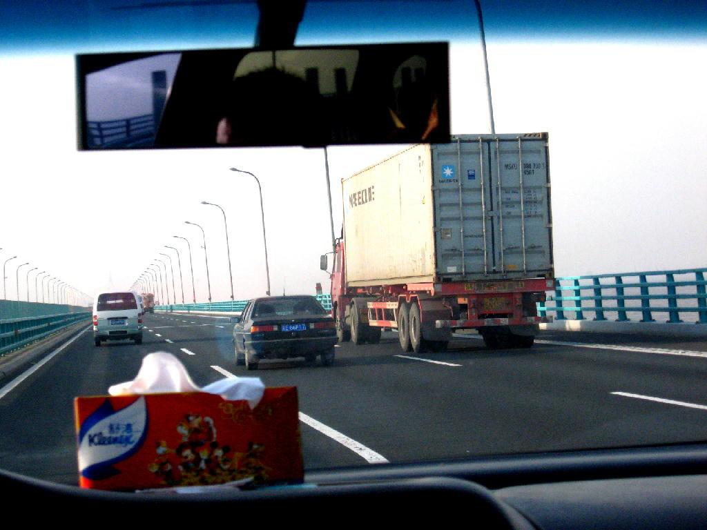 Ponte di Hangzhou Bay - traffico