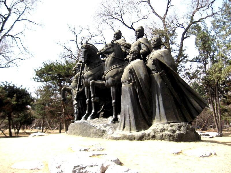 i 6 generali - scultura dinastia Song