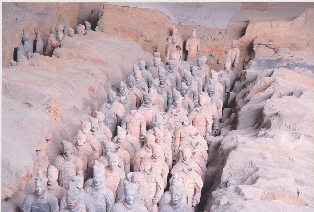 xian - guerrieri di terracotta