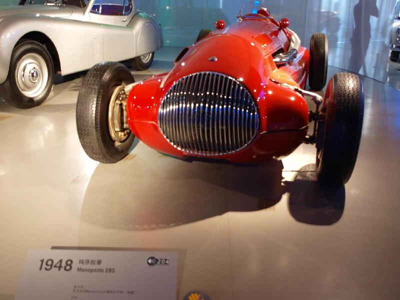 Maserati 1948 EBS monoposto - fronte
