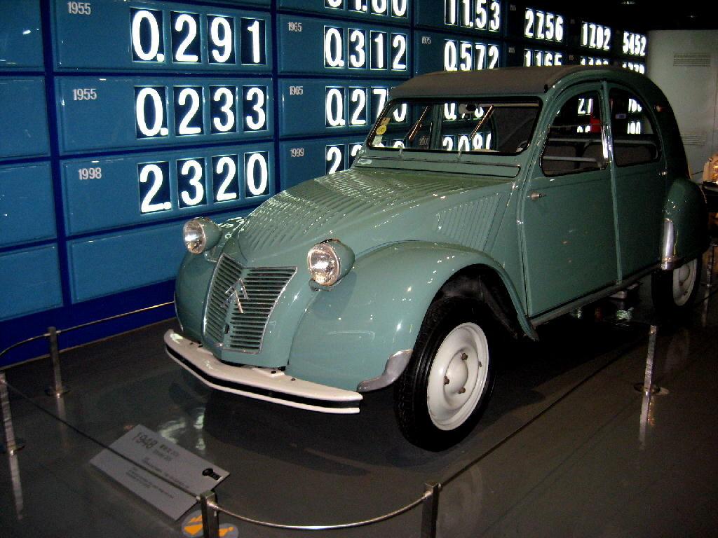 Citroen 1948 mod 2CV