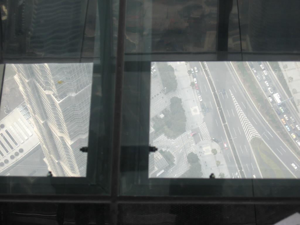 panorama dal pavimento interno