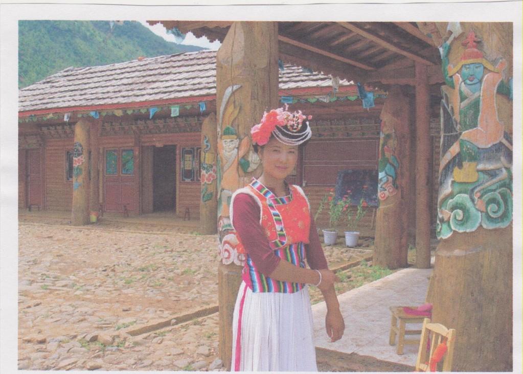 Yunnan - lago Luku - bellezza Mosuo