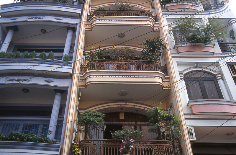 Ho Chi Minh city casa stile francese