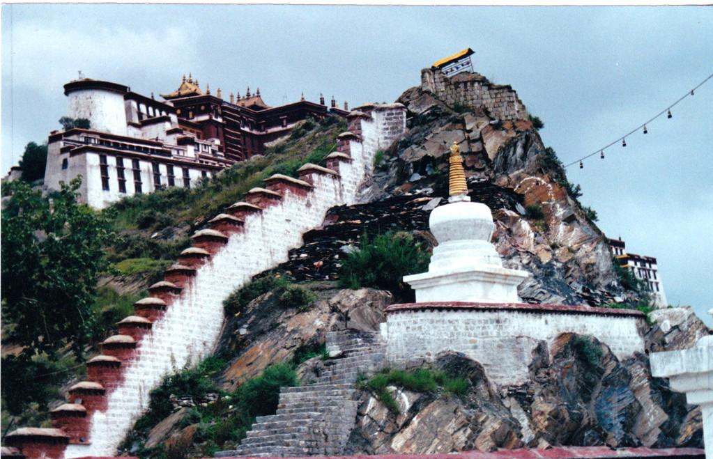 Lhasa Potala lato sinistro