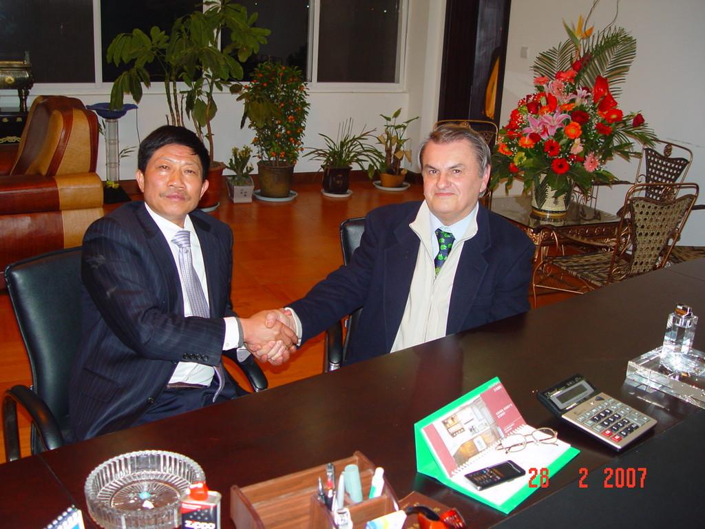 Accordo cooperazione mr. Chen