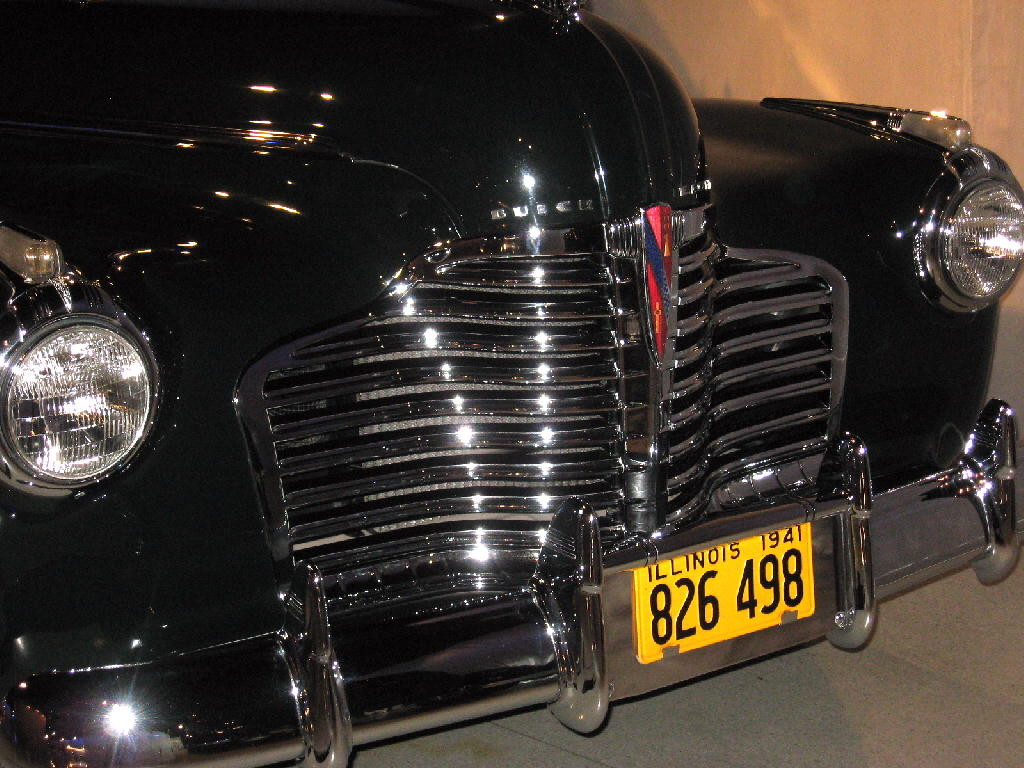 Buick 1941 - Super series Mod. 56 coupè - fronte