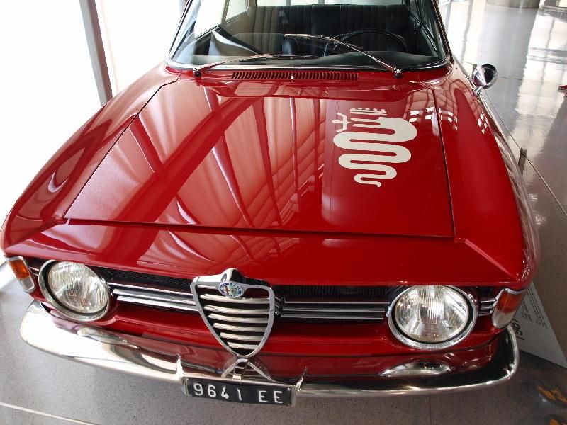 Alfa Romeo 1967 Giulia GT - fronte