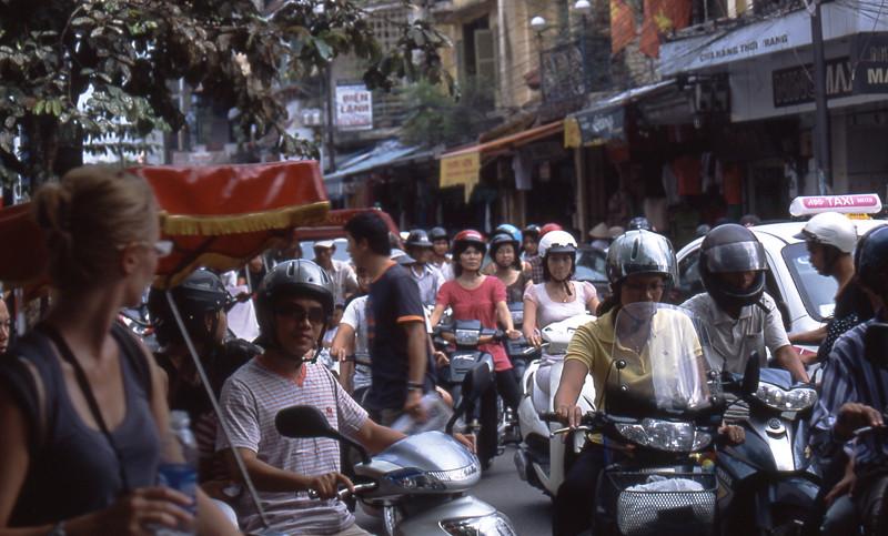 Hanoi traffico
