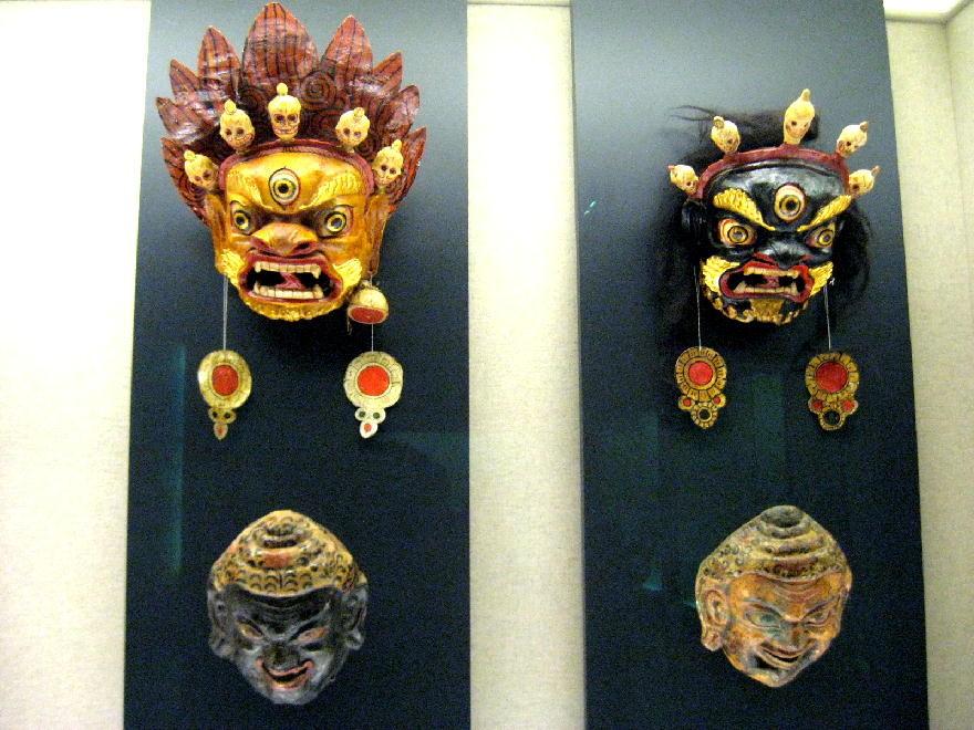 Xizang - maschere rituali cham