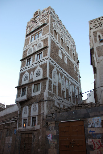 Yemen - Sana'a - Tower house