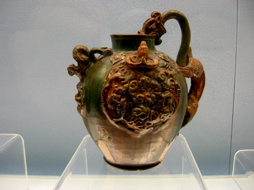 dinastia Tang 唐朝  - Vaso sancai