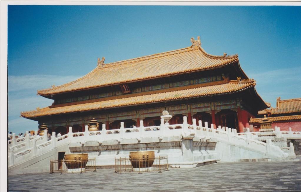 Pechino .- città proibita - palazzo del trono