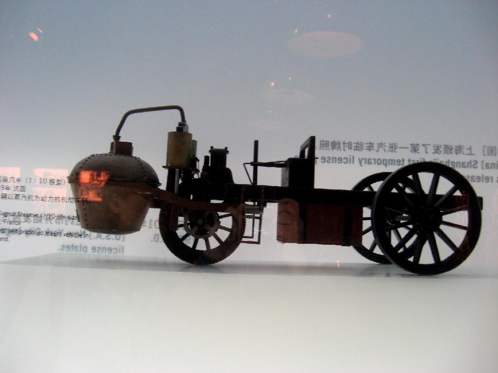 carro di Cugnod - 1771 - prima auto a vapore