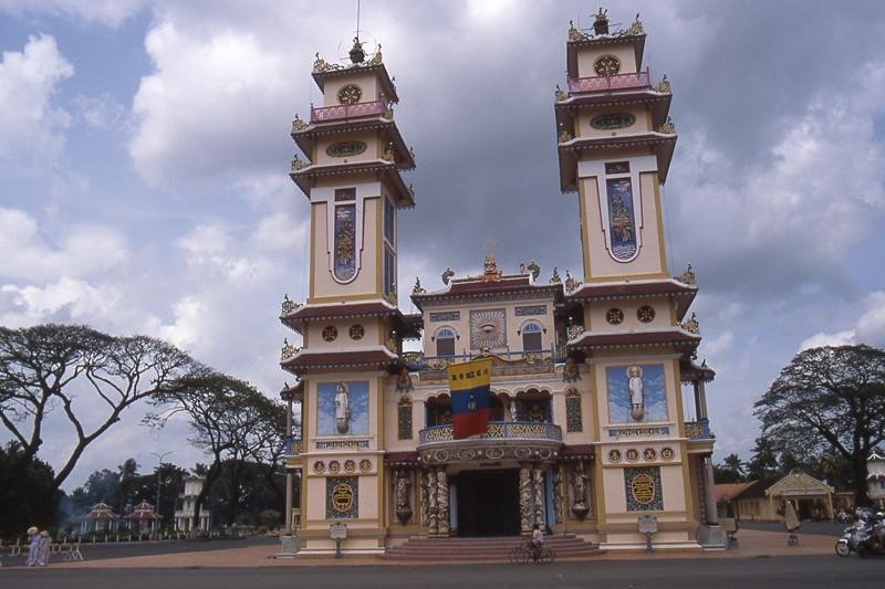 Tayninh tempio caodaismo