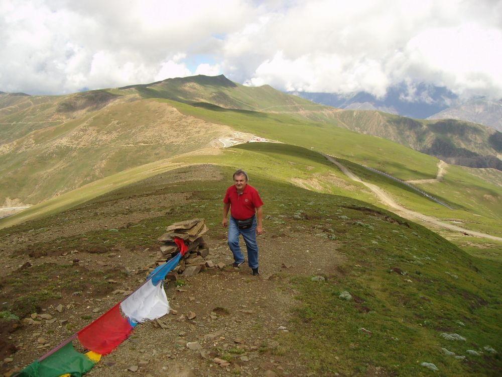 Beppe scalata al monte mt. 5350
