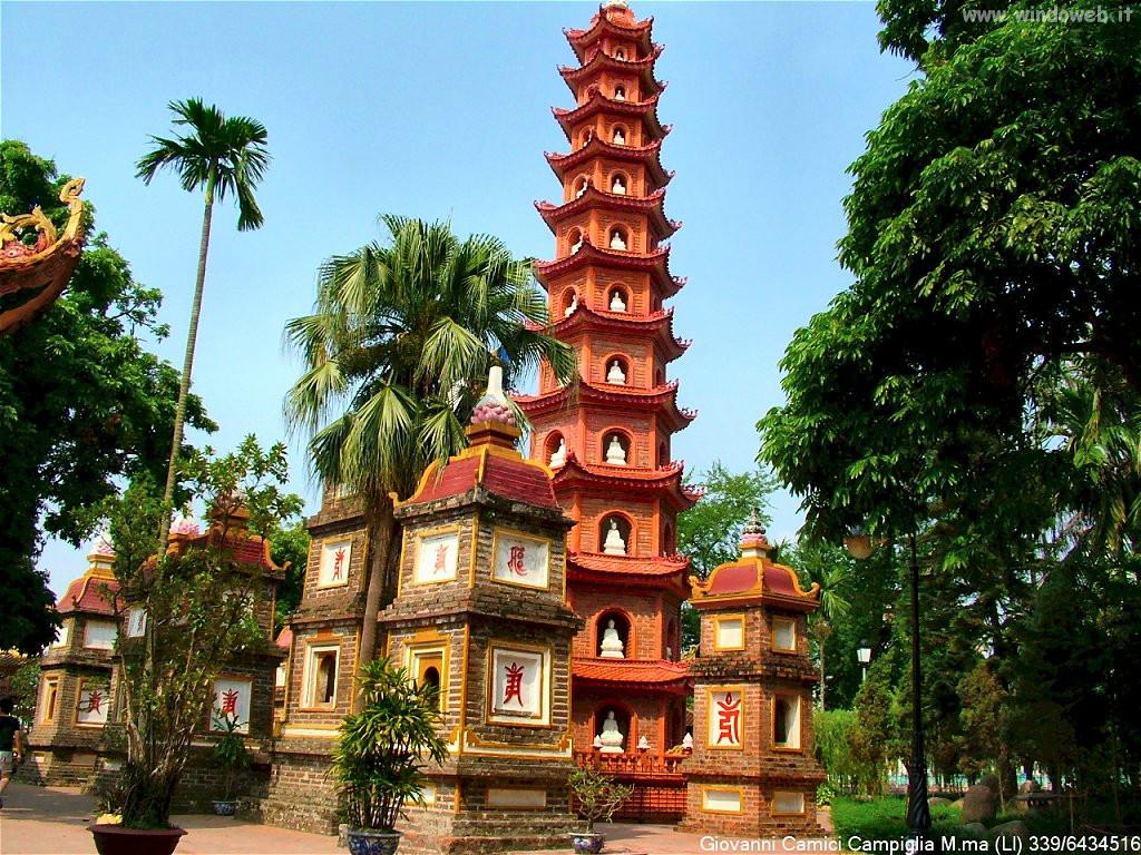 Hanoi pagoda Tran Quoc