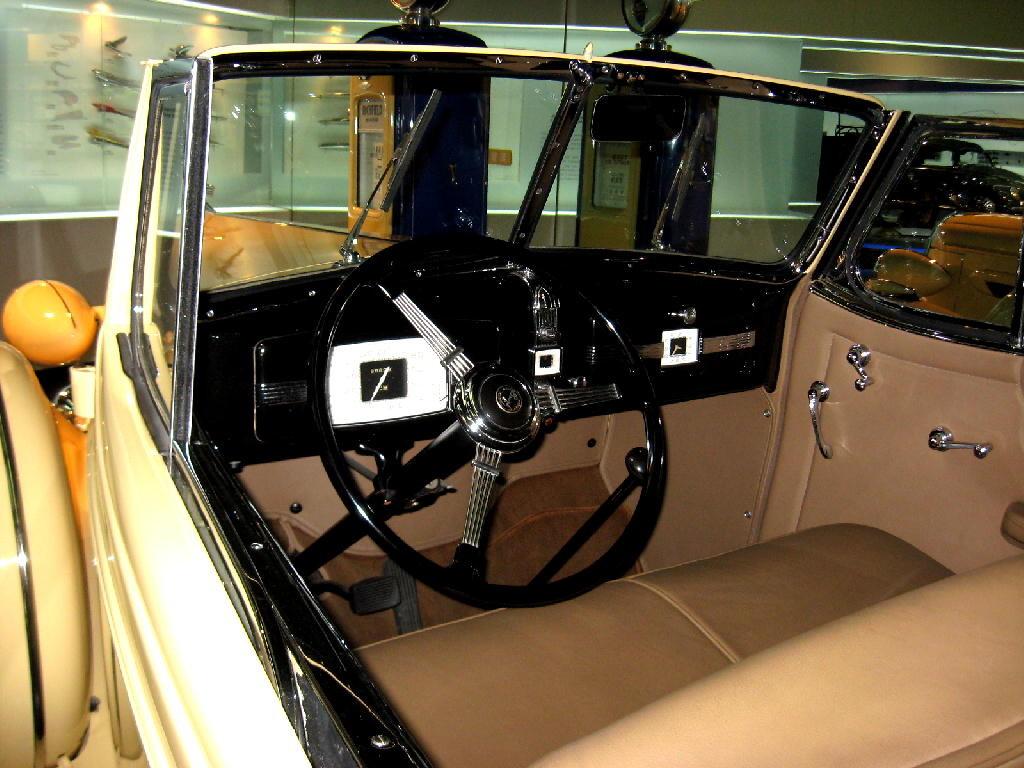 Buick 1936 serie 60 - interno
