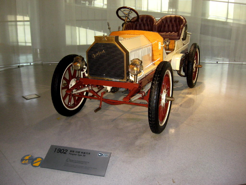 Peugeot 1902 tipo 39 - frontale