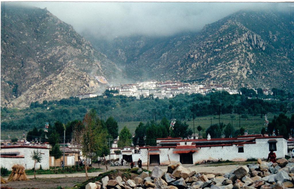 Lhasa monastero Drepung