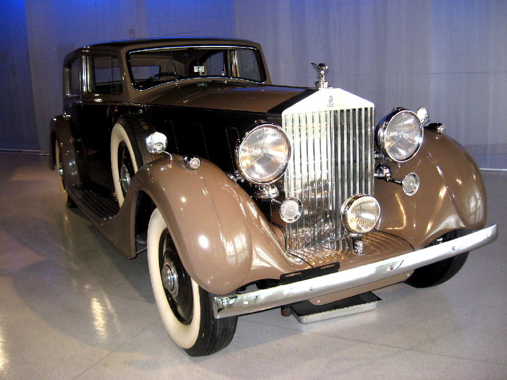 Roll Royce 1937 Phantom III - fronte