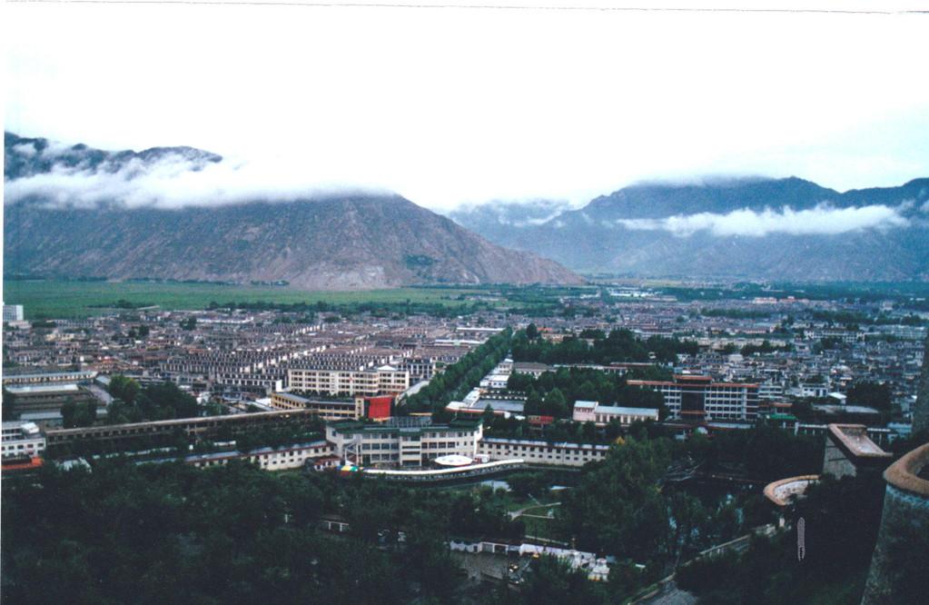 Lhasa panorama dal Potala