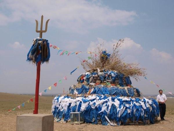 mongolia - chorten di preghiera