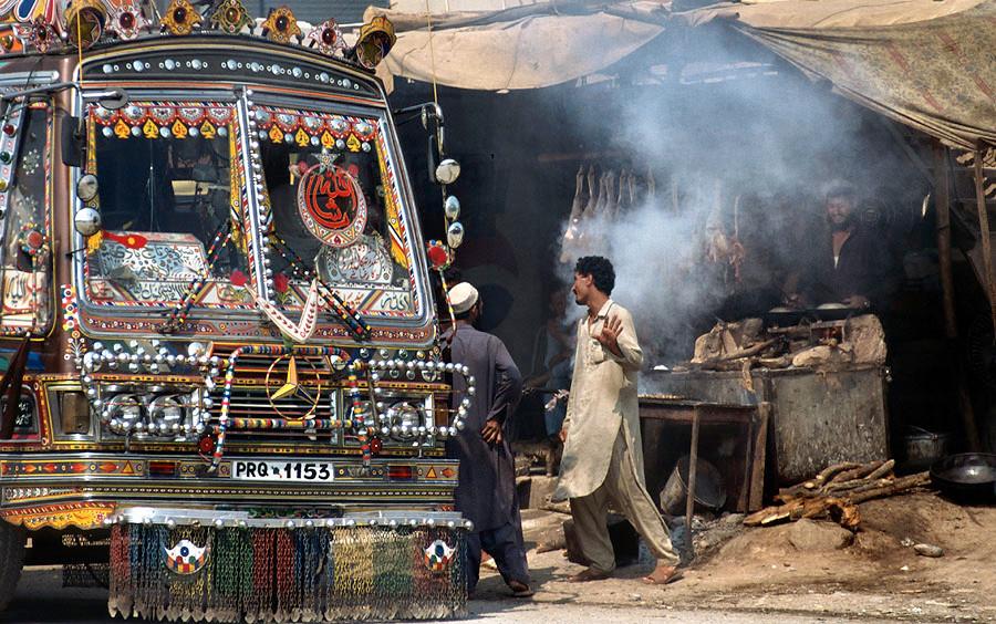 Yemen - camion