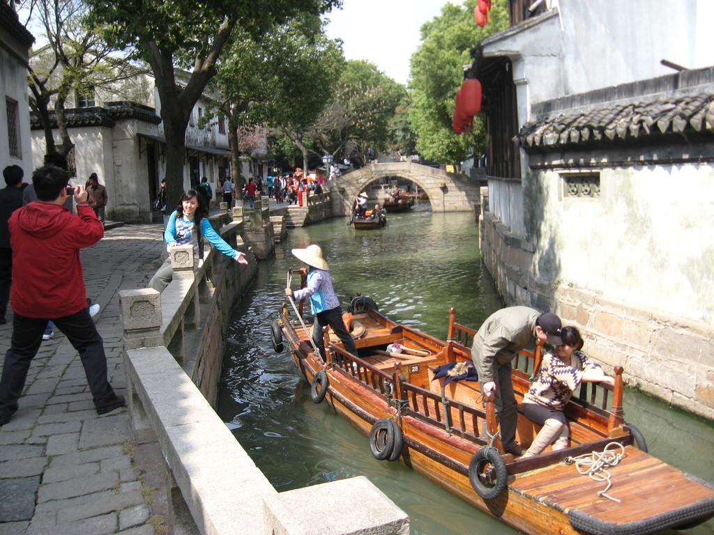 Tong li - passeggiata in barca
