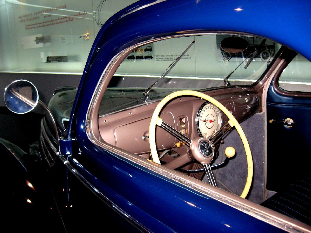 Lincoln 1939 Zephyr - interno