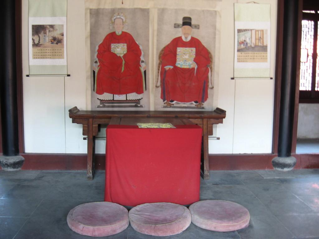 Tong li - figure confuciane