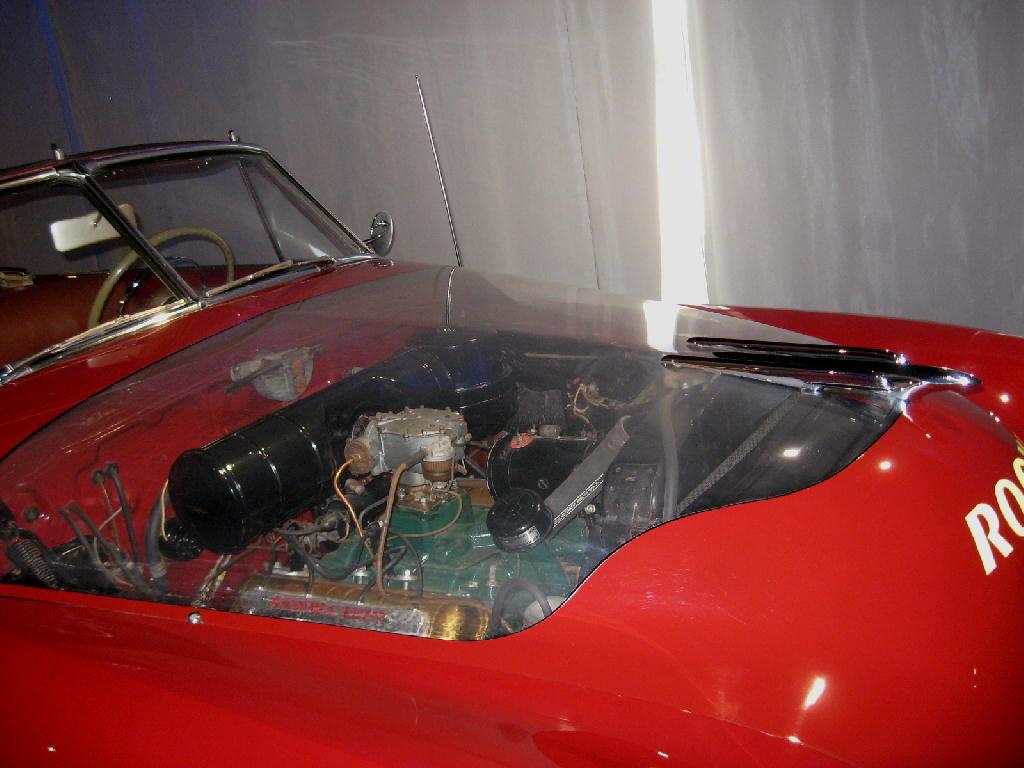 Oldsmobile 1949 Futurematic - dettaglio motore