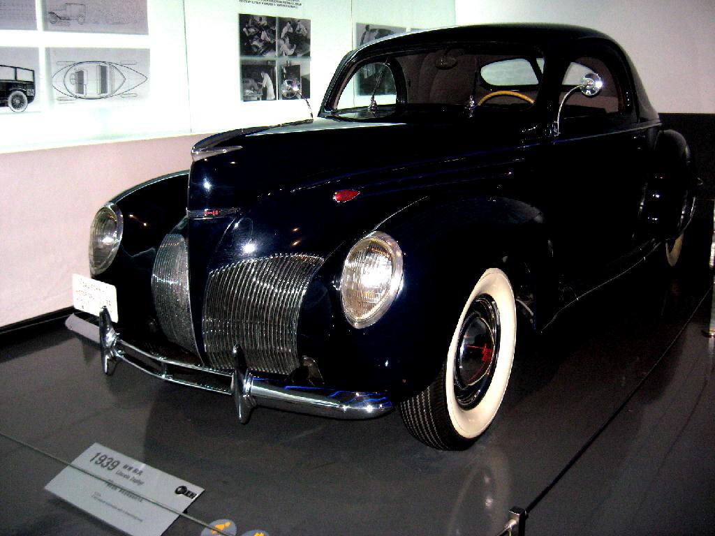 Lincoln 1939 Zephyr - fronte