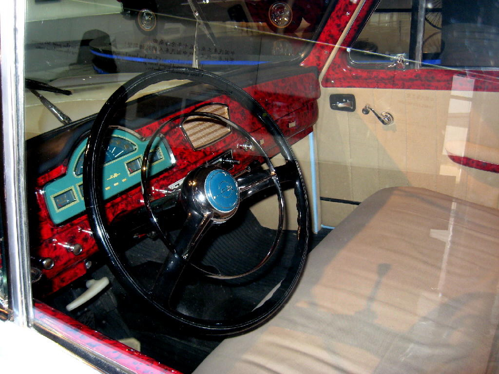 Ford 1955 Thunderbird - interno