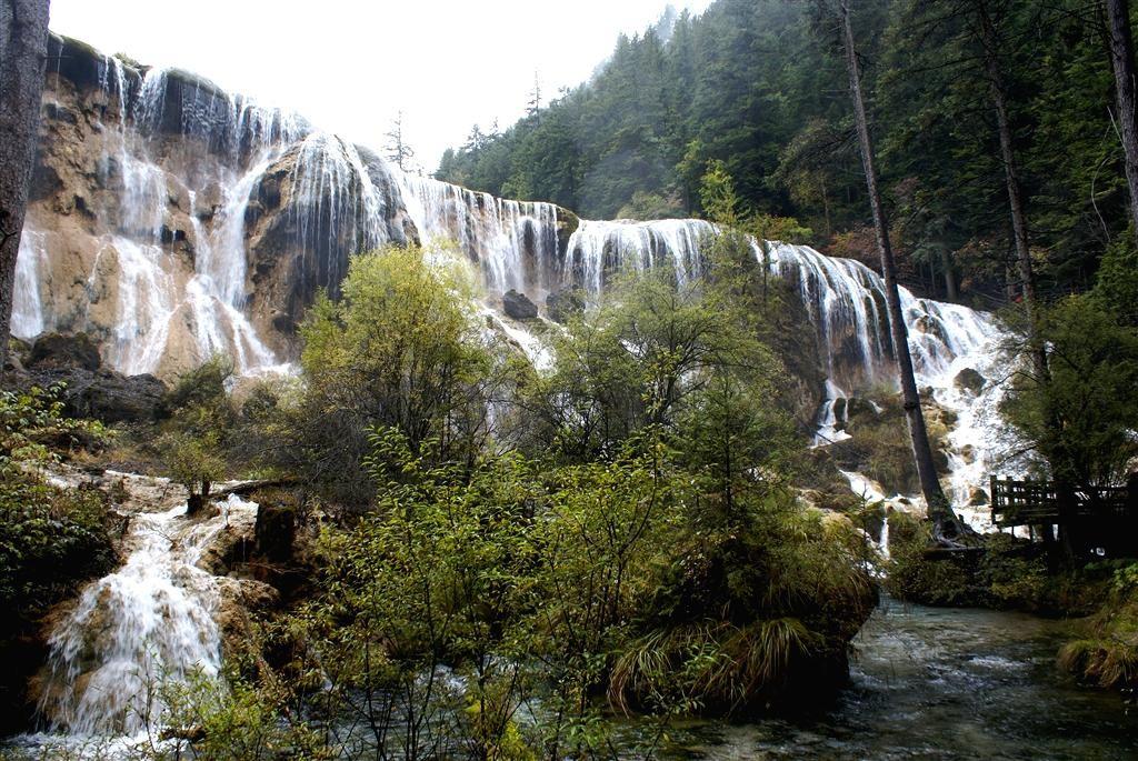 Sichuan - Jiezhaigou - cascate