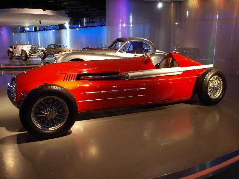 Maserati 1948 EBS monoposto - fianco
