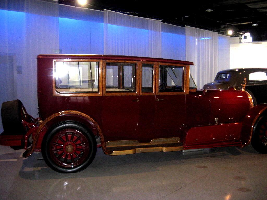 Heine 1921 Velox V12 - l'auto di gran lunga più costosa di quegli anni