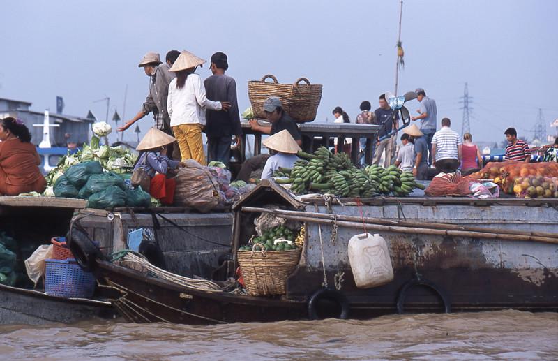 Cai Rang mercato galleggiante