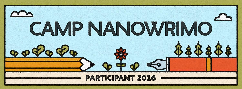 Juli Camp NaNo 2016   Tag 16