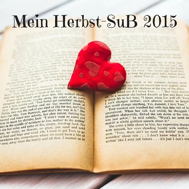 [Leseliste] Mein Herbst-SuB 2015