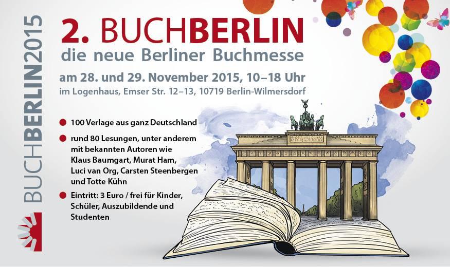 [Buchmesse] BuchBerlin 2015 - Vor der Messe