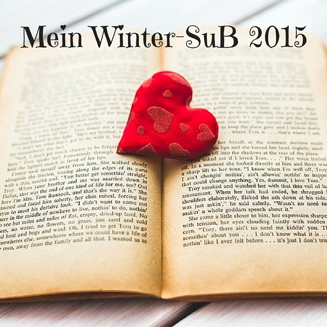 [Leselisten] Mein Winter-SuB 2015