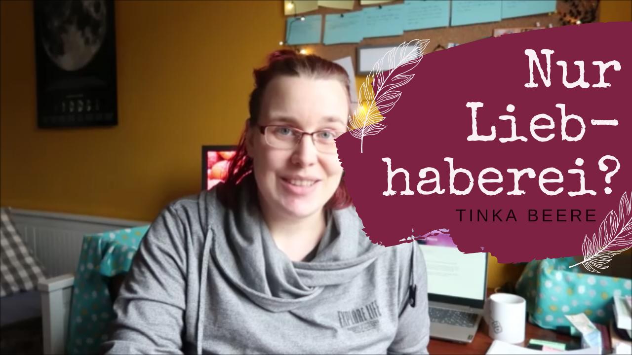 [Video] Ist meine Autorentätigkeit Liebhaberei? #Autorenleben im April 2021 Teil 2