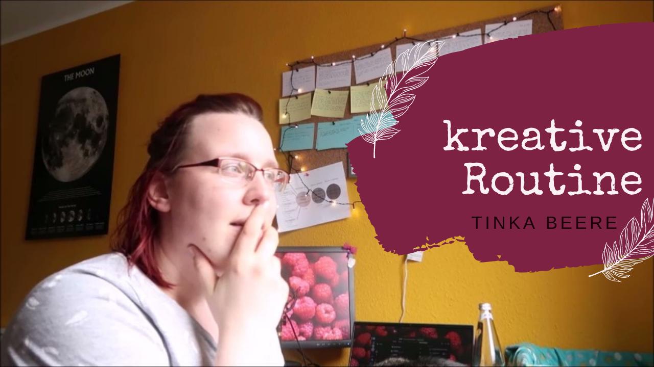 [Video] Schreibvlog Mai 2021 | mein erster Impftermin und kreative Routine #Autorenleben