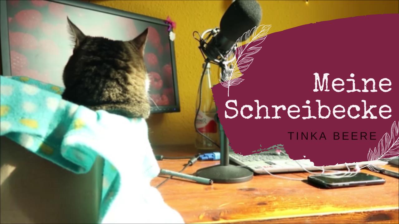 [Video] Schreibtischtour oder Schreibtischchaos? #Autorenleben