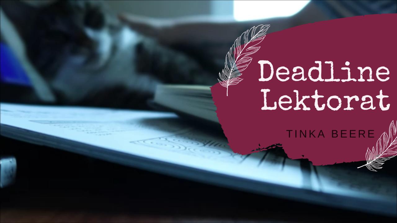 [Video] Vlog 122 #autorinnenleben | Deadline fürs Lektorat | Update BACK TO THE ROOTS & SCHREIBKALENDER 2022