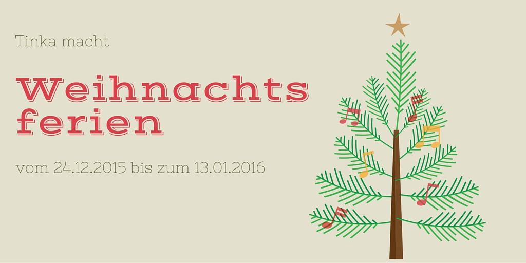 [Info] Lesen über Weihnachten | Tinka macht Weihnachtsferien