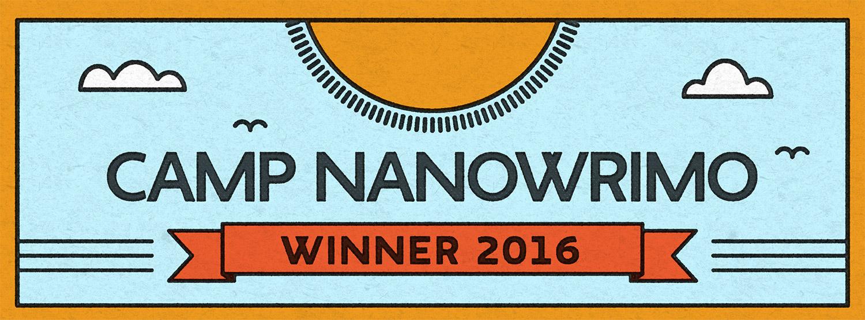 Juli Camp NaNo 2016 | Tag 28