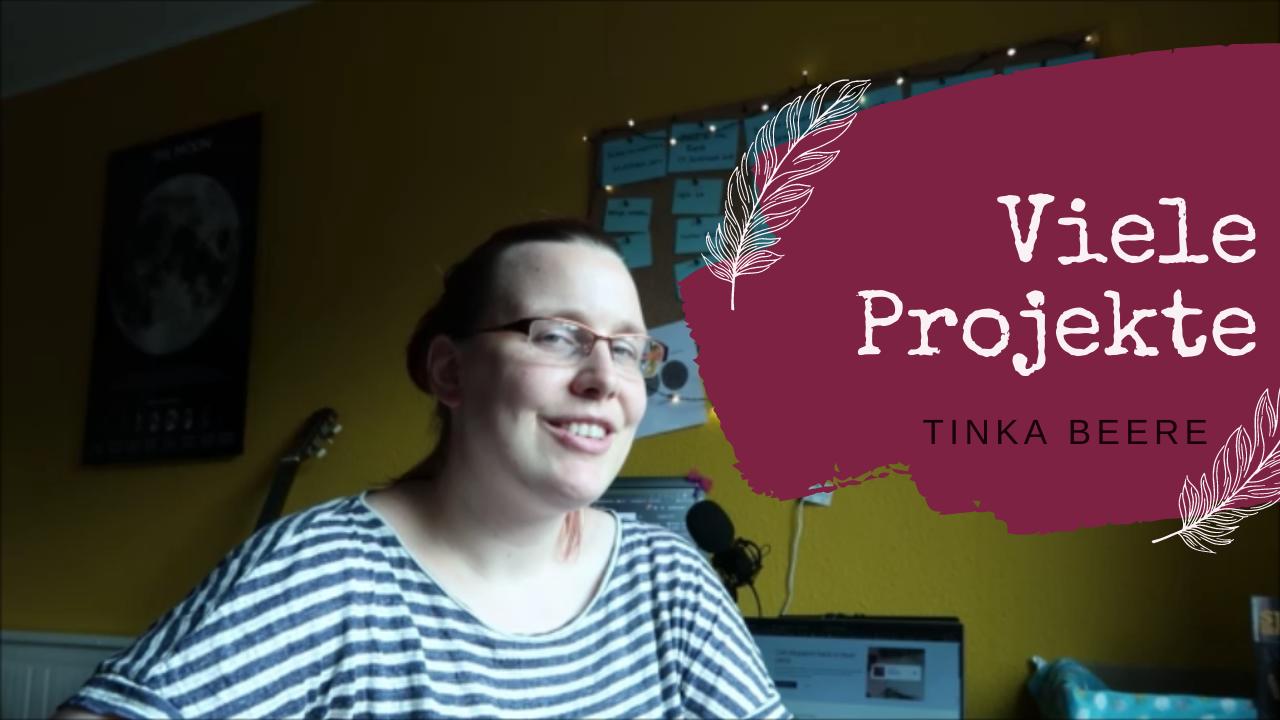 [Video] Vlog 123 #autorinnenleben | Produktive Zeiten und viele Projekte